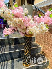 Black/Gold Flower Vase With Flowers | Home Accessories for sale in Abuja (FCT) State, Gaduwa