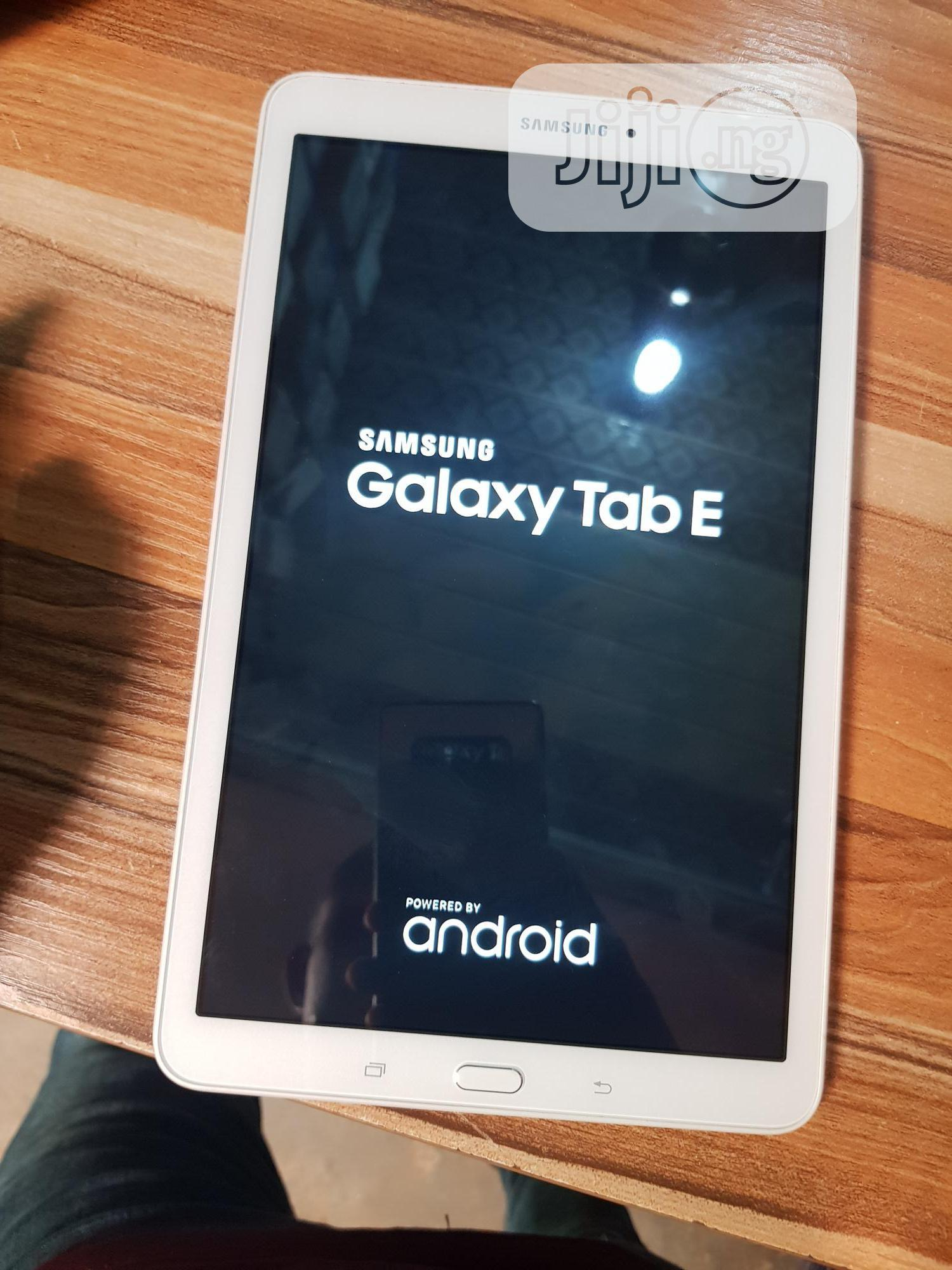 Samsung Galaxy Tab E 9.6 8 GB   Tablets for sale in Wuse, Abuja (FCT) State, Nigeria