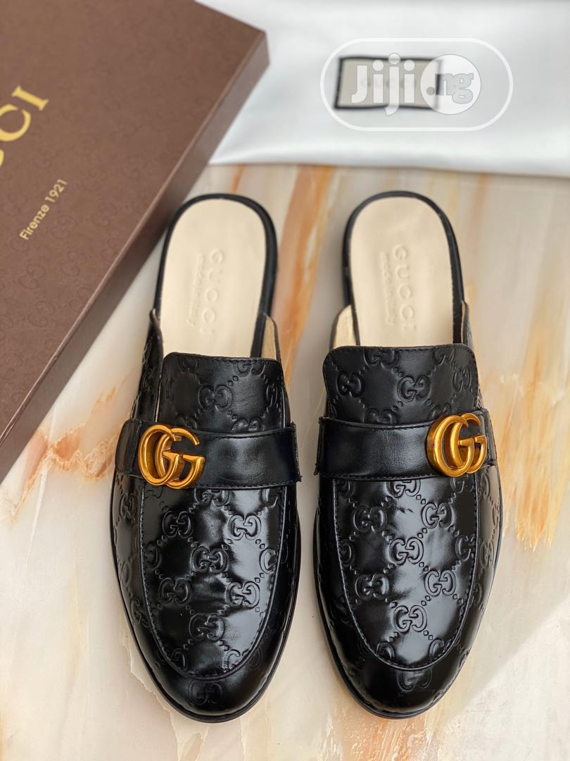 GUCCI Princetown Men's Leather Slippers   Shoes for sale in Ikoyi, Lagos State, Nigeria