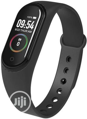 M4 Smart Bracelet Fitness Tracker Blood Pressure Heart Rate | Smart Watches & Trackers for sale in Lagos State, Agboyi/Ketu