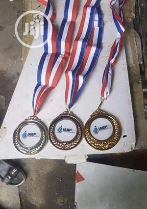 Gold,Silver And Bronze Medal With Printing   Arts & Crafts for sale in Abuja (FCT) State, Garki 2