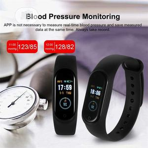 M4 Sports Wrist Band Heart Rate Fitness Tracker Waterproof Bracelet | Smart Watches & Trackers for sale in Lagos State, Apapa