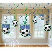 Football Party Hanging Swirls | Party, Catering & Event Services for sale in Lagos State, Surulere