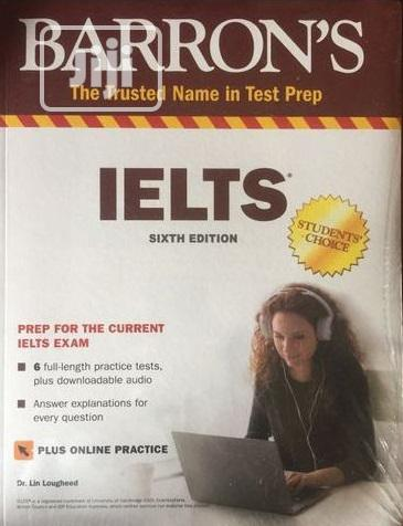 Archive: Barron's IELTS With MP3 CD, 6th Edition
