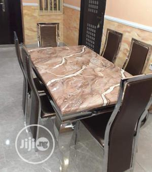 Marble Dining Table | Furniture for sale in Lagos State, Ikotun/Igando