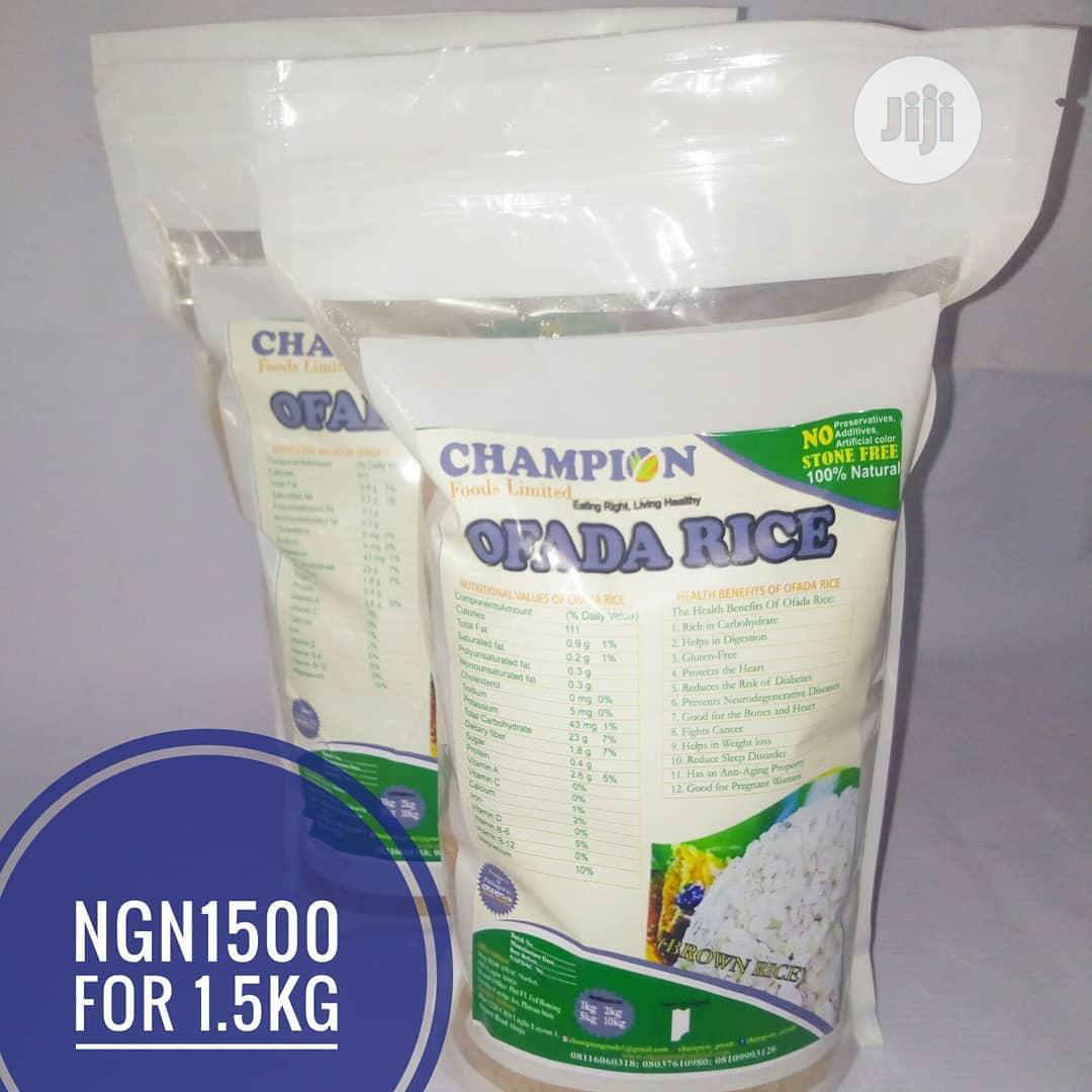 Archive: Champion Goods Ofada Rice.