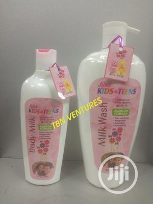 Lilies Kids Teens Body Milk -400ml Shower Gel 1000ml   Bath & Body for sale in Lagos State, Amuwo-Odofin