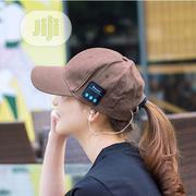 Wireless Bluetooth 4.2 Headset Hat Music Sport Running Cap (Blue) | Headphones for sale in Lagos State, Lagos Island
