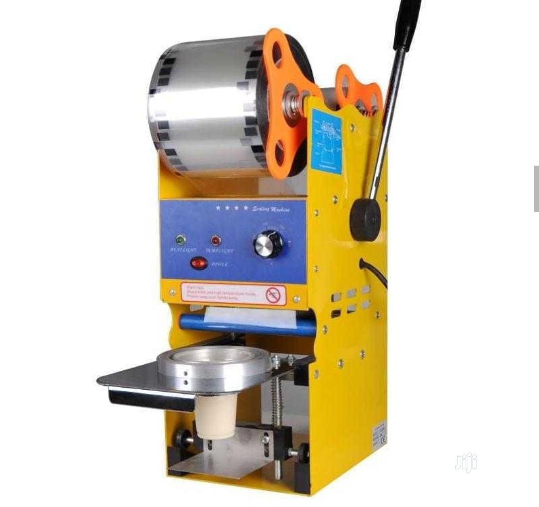 Archive: Semi Automatic Cup Sealing Machine
