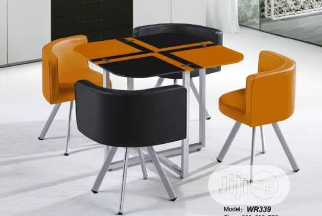 Quality Strong 4 Seater Glass Dinning Table