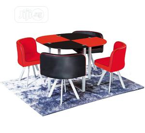 Quality Strong 4 Seater Glass Dinning Table   Furniture for sale in Lagos State, Ifako-Ijaiye