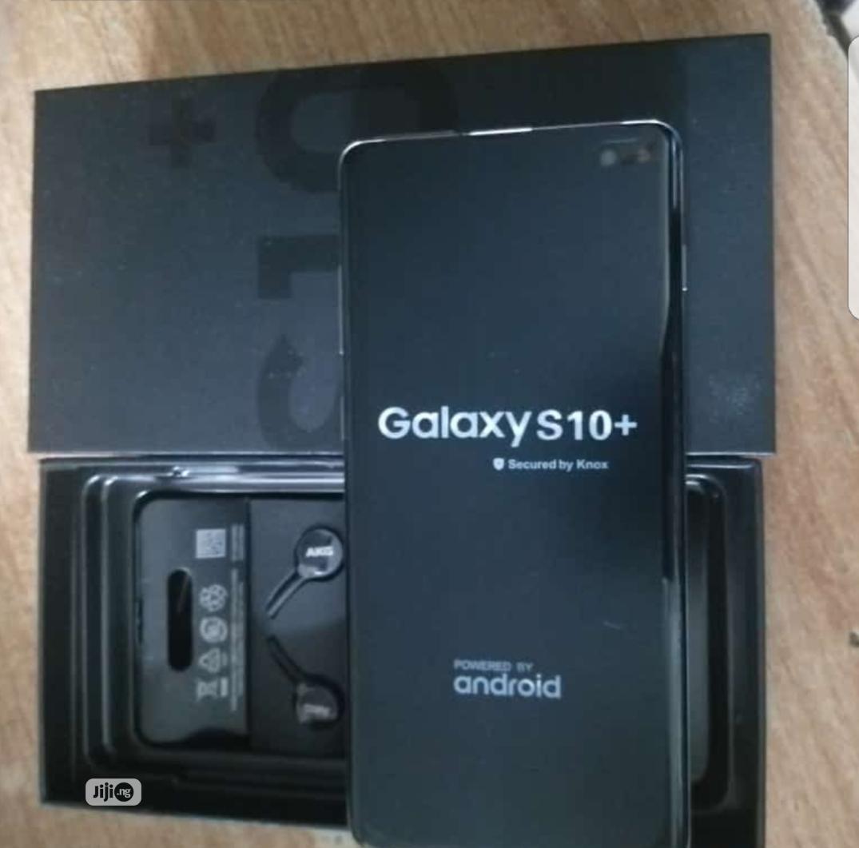 Samsung Galaxy S10 Plus 128 GB Black | Mobile Phones for sale in Lagos State, Nigeria