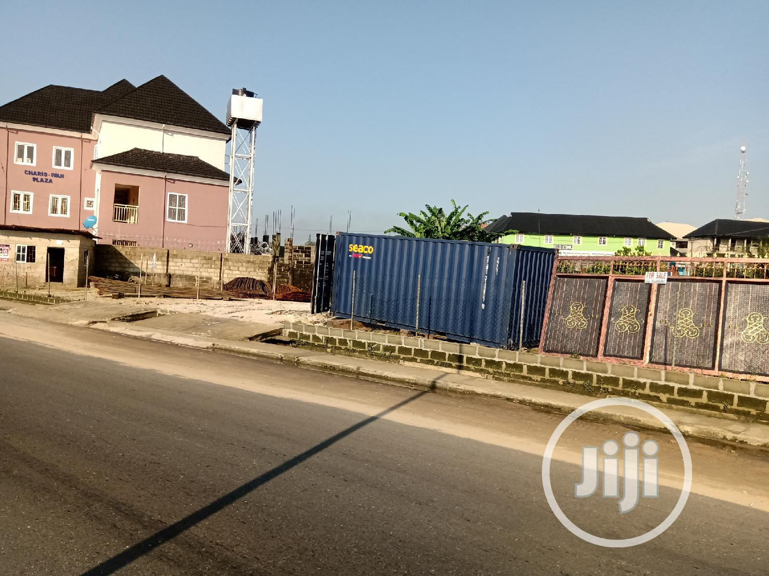 Archive: 1 And Half Plot Of Land On Major Road, Off Peter Odili Extension.