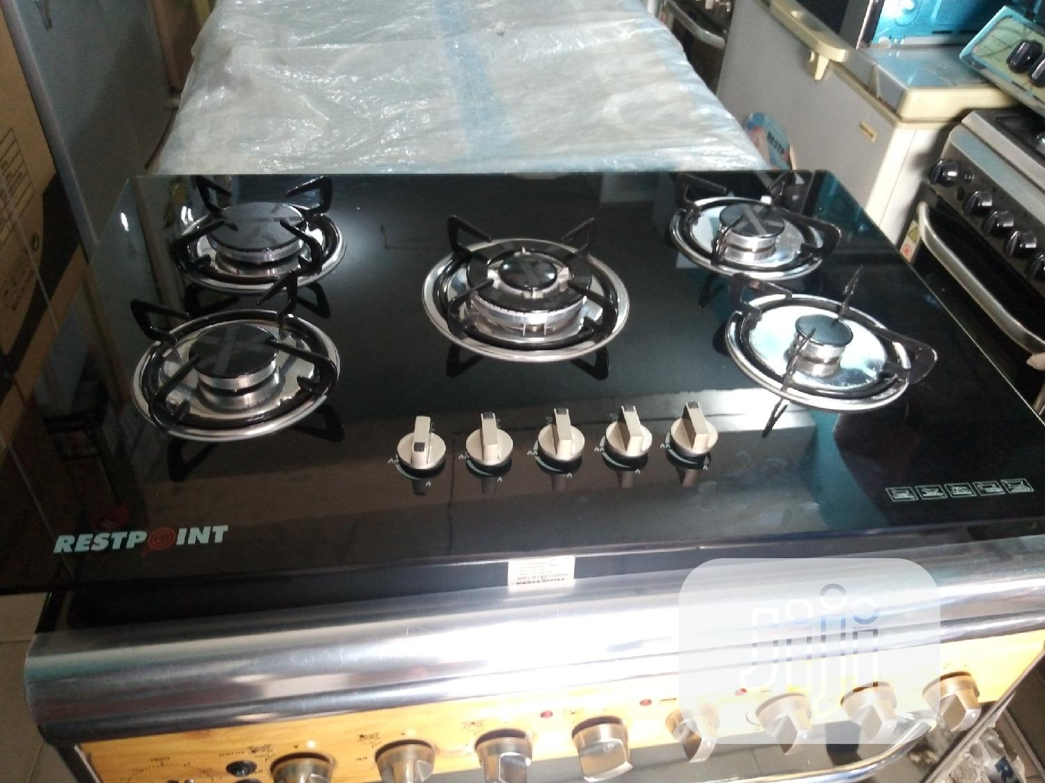 Archive: Restpoint 5burners All Gas Automatic Ignition 3years Warranty