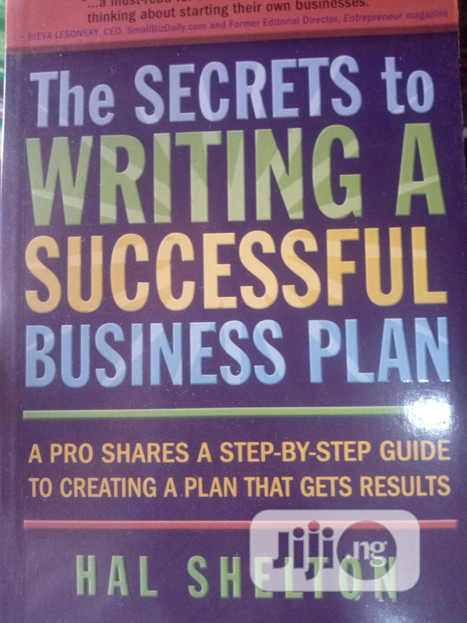 The Secret To Writing Successful Business Plan
