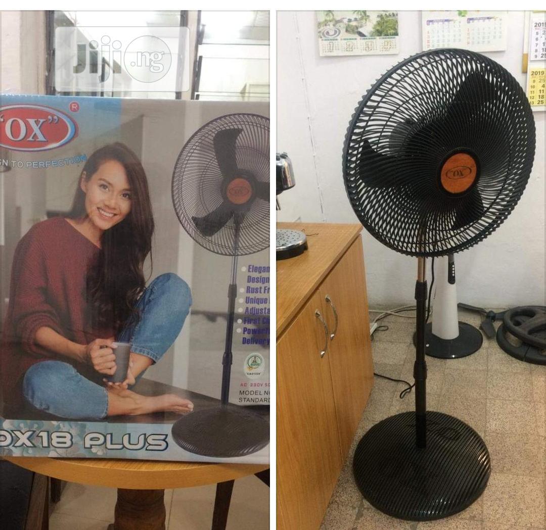 """OX OX 18"""" PLUS Standing Fan   Home Appliances for sale in Ojo, Lagos State, Nigeria"""