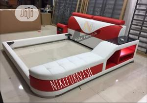 Model GX 4 Luxury Upholstery Sofa's Leather Beds Frame | Furniture for sale in Lagos State, Lekki