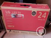 LG 24 Inches LED Tv. Side Speaker | TV & DVD Equipment for sale in Lagos State, Ojo