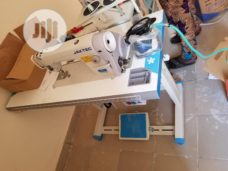 JAKTEC Industrial Straight Sewing Machine | Manufacturing Equipment for sale in Lagos Island (Eko), Lagos State, Nigeria