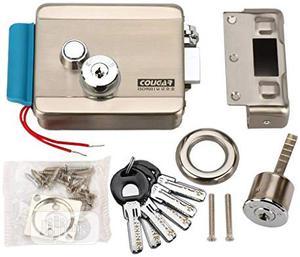 Electric Control Door Lock Key For Wooden Glass Door Phone Intercom | Doors for sale in Lagos State, Ikeja