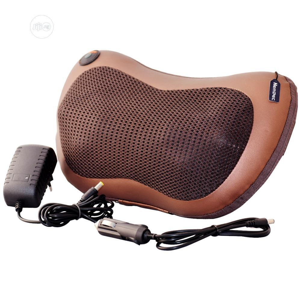 Car And Home Massage Pillow   Vehicle Parts & Accessories for sale in Ikeja, Lagos State, Nigeria
