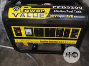 Power Value PPG5200 3.8Kva Gasoline Generator   Electrical Equipment for sale in Lagos State, Ojo