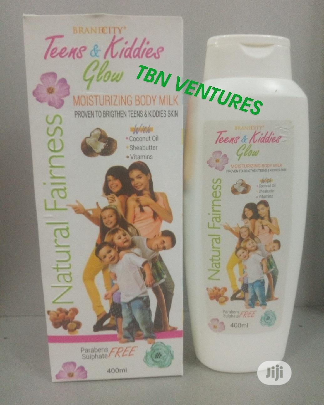 Brandcity Teens & Kiddies Glow Body Milk -400ml