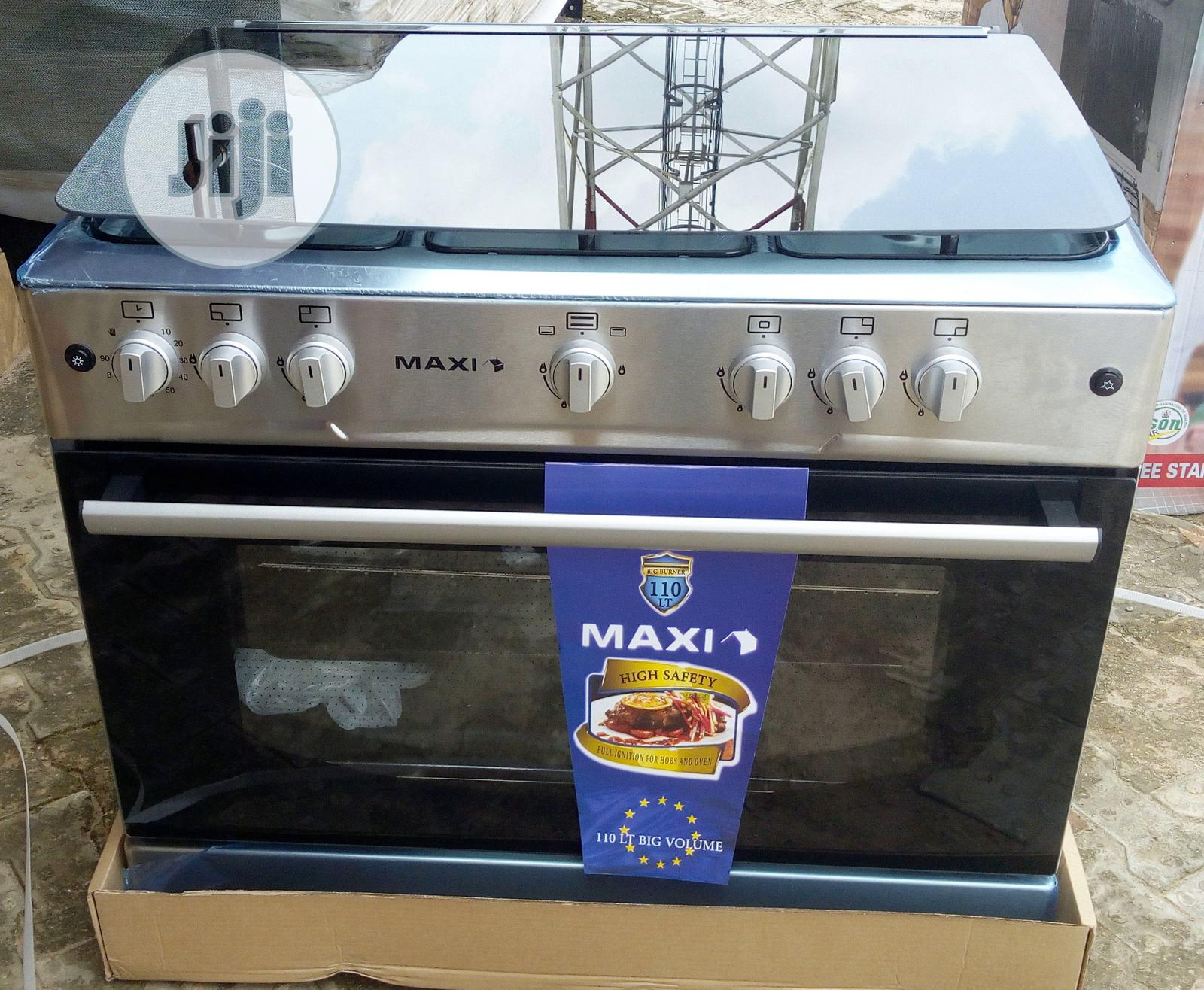Maxi Gas Cooker 5 Burner All Gas - F9E50G2