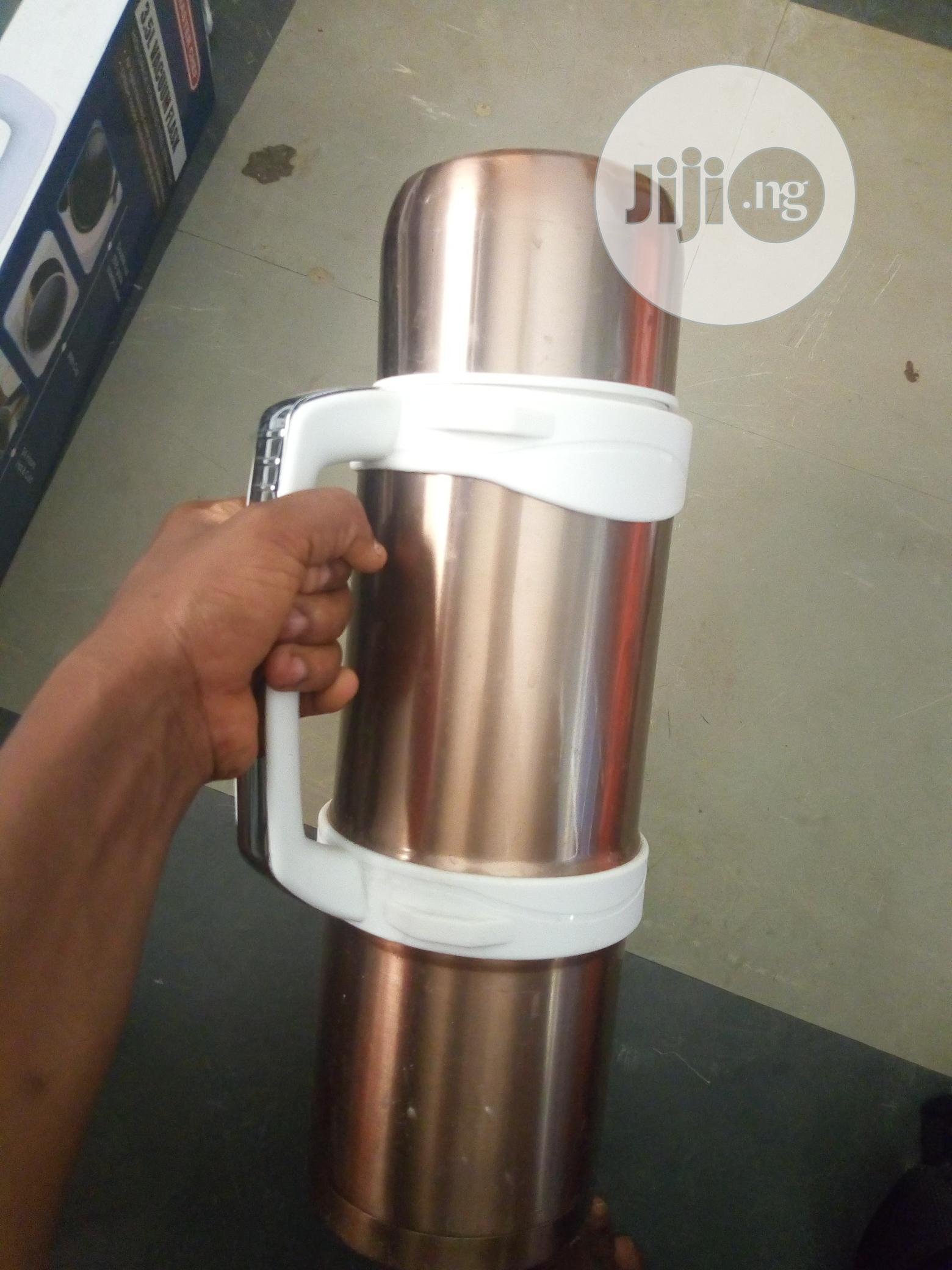 Almost New 3.5 Litres Vacuum Flask | Kitchen & Dining for sale in Lagos State, Nigeria
