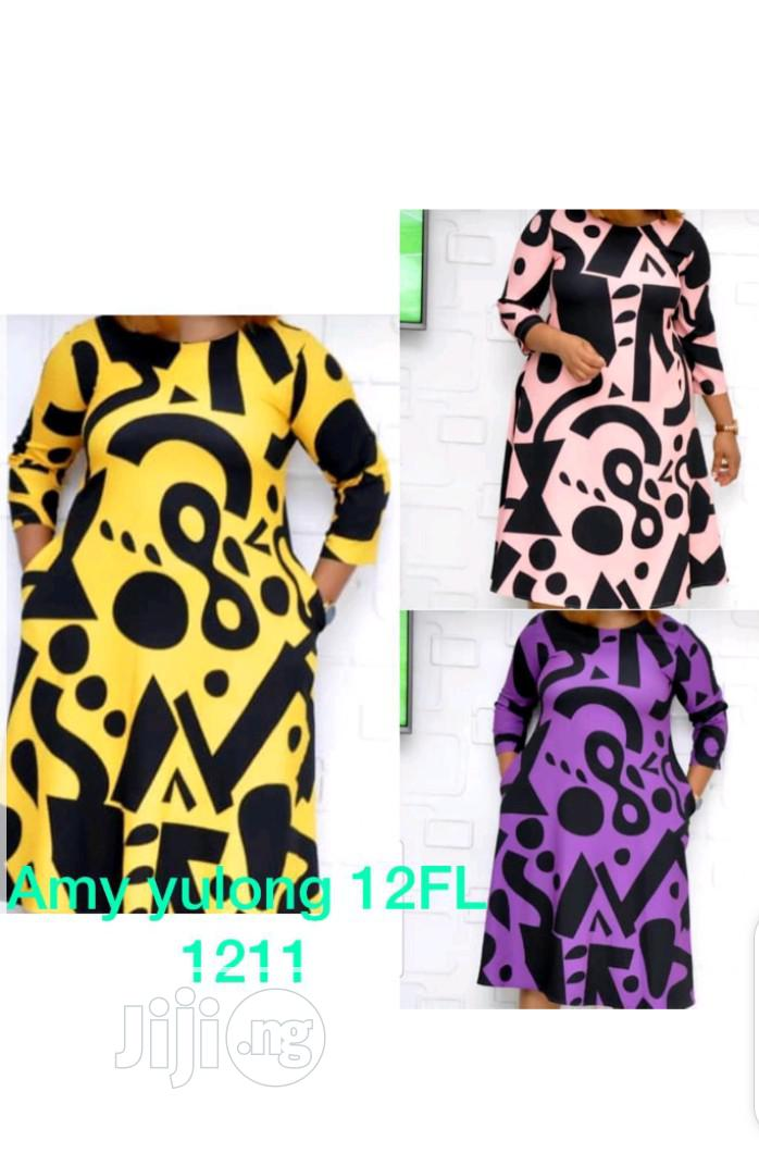 Archive: Ladies Abstract Pattern Dress