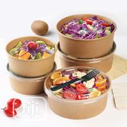 Kraft Paper Bowl-50pcs | Kitchen & Dining for sale in Lagos State, Surulere