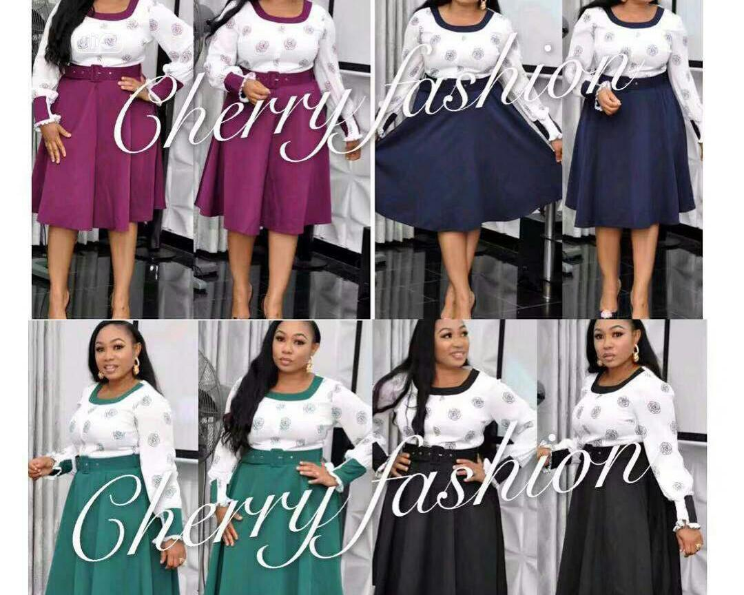 New Cherry Fashion Female Gown