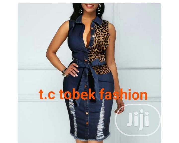 Female Jeans Skirt $ Blouse