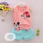 Clothing Sets Mickey Mouse Vest and Short   Children's Clothing for sale in Lagos State, Oshodi-Isolo