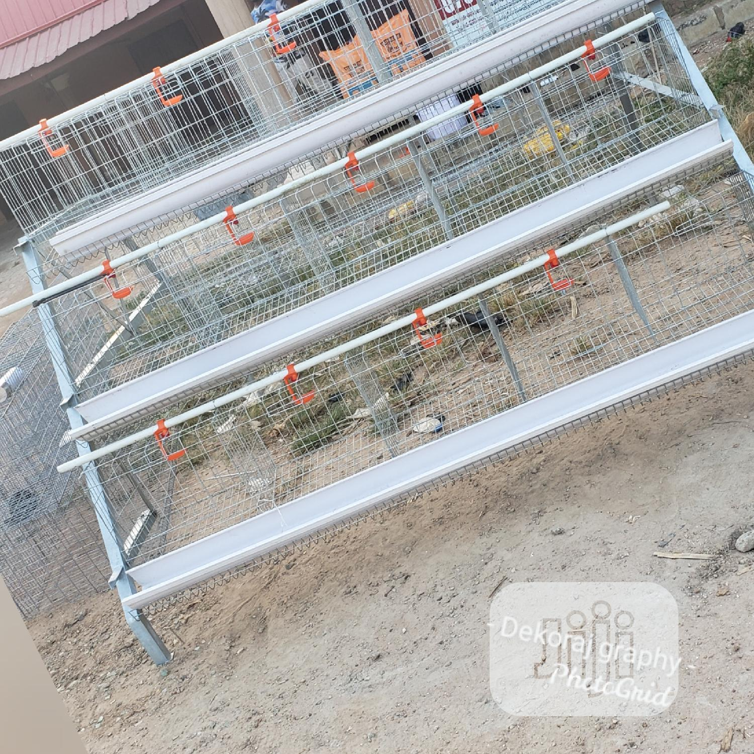 Battery Cage For Layers Available | Farm Machinery & Equipment for sale in Nyanya, Abuja (FCT) State, Nigeria