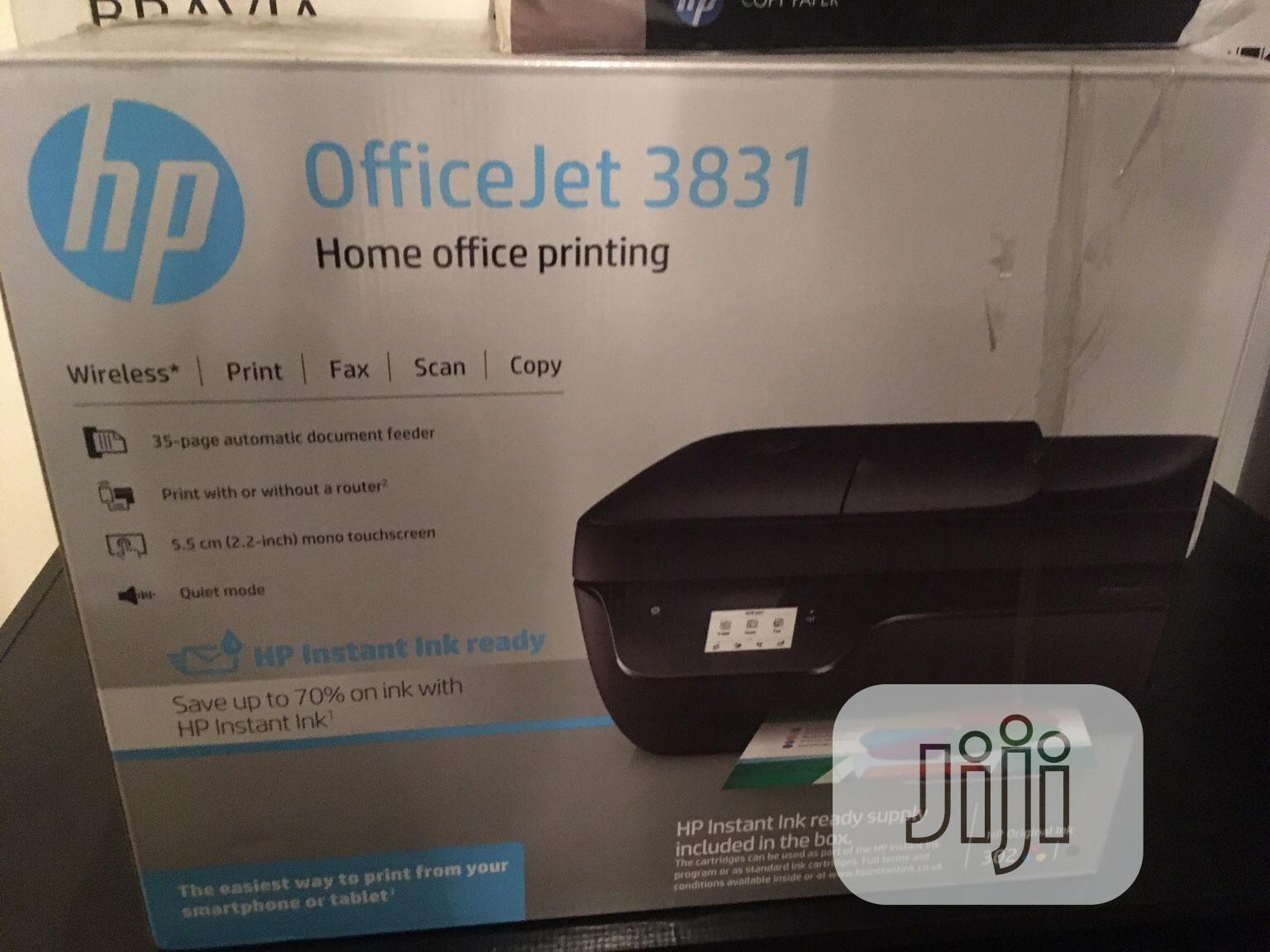HP Officejet 3835 All-In-One Printer   Printers & Scanners for sale in Ikeja, Lagos State, Nigeria