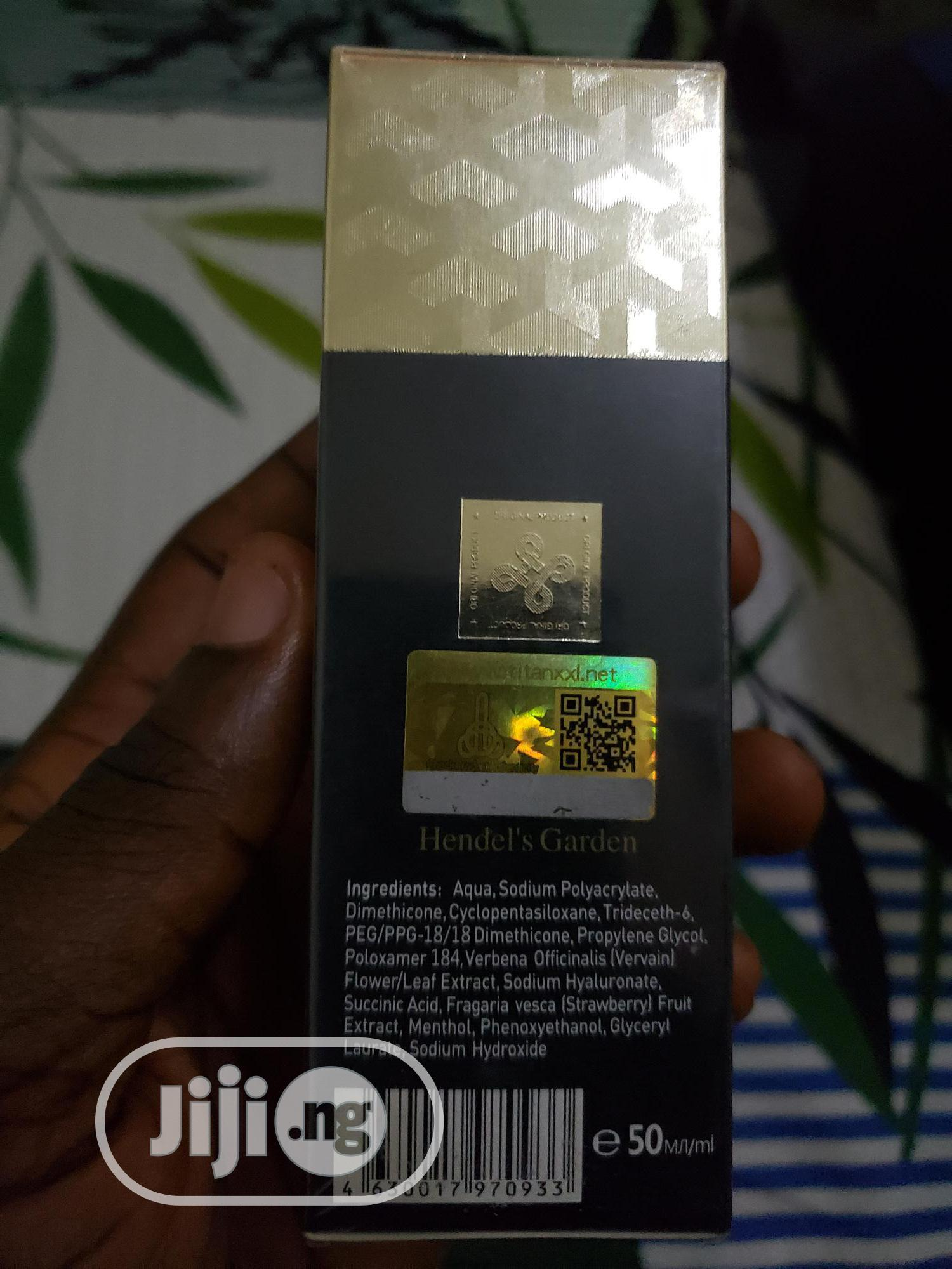 Titan Gel (Gold) For Men Penis Enlargement And Delay | Sexual Wellness for sale in Ibadan, Oyo State, Nigeria