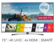 LG 75 Inch 4k UHD Smart Wifi Internet Tv | TV & DVD Equipment for sale in Lagos State, Ojo