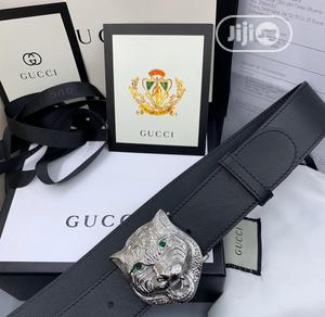 Original Gucci Leather Belt for Men's | Clothing Accessories for sale in Lagos State, Lagos Island (Eko)