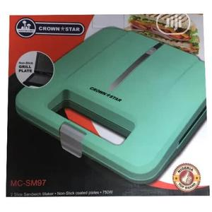Master Chef Sandwich Maker /Bread Toasters- 2 Slice | Kitchen Appliances for sale in Lagos State, Lagos Island (Eko)