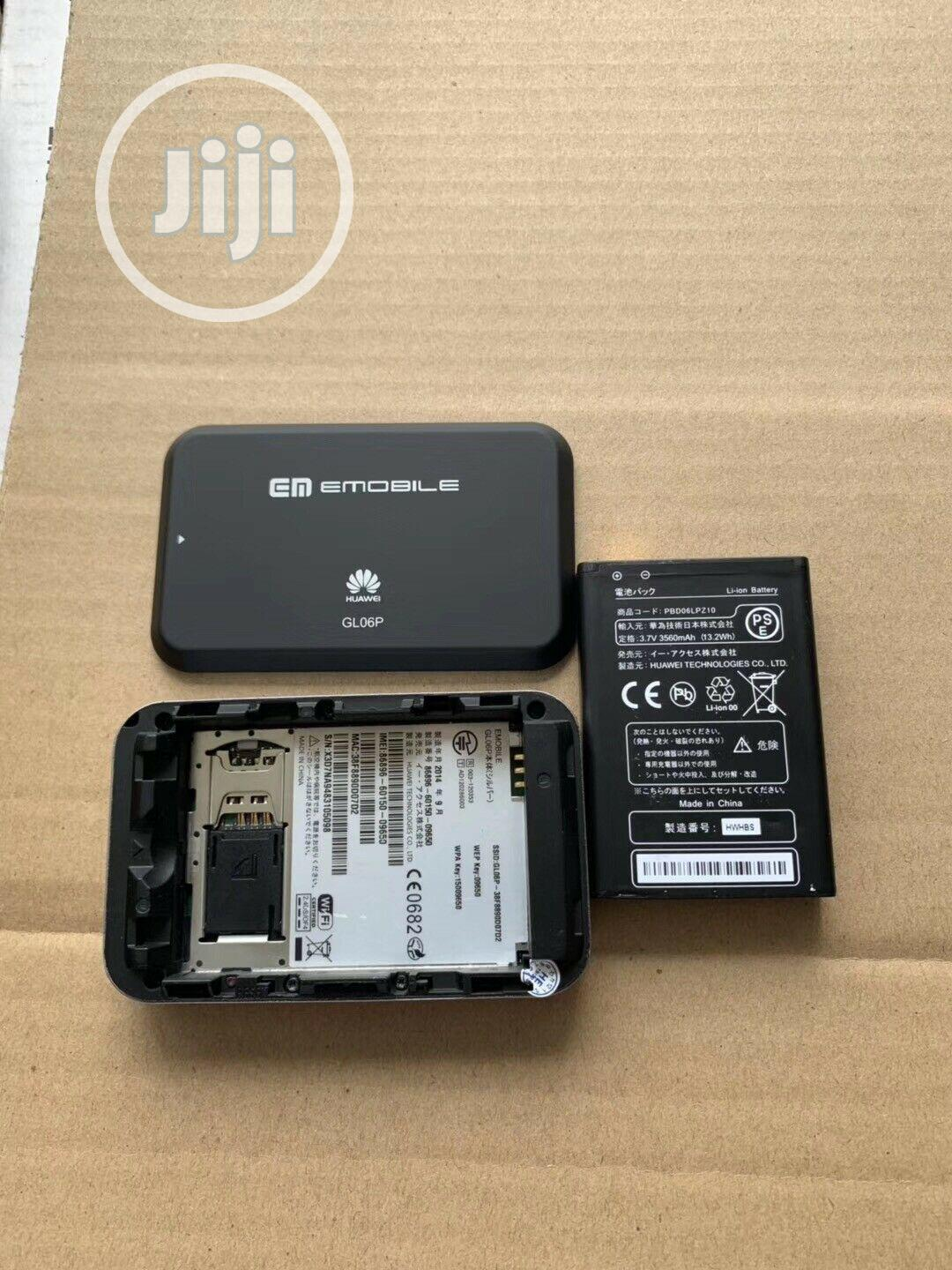 Huawei 3g/4g LTE Mobile Wi-Fi Hotspot | Networking Products for sale in Ikeja, Lagos State, Nigeria