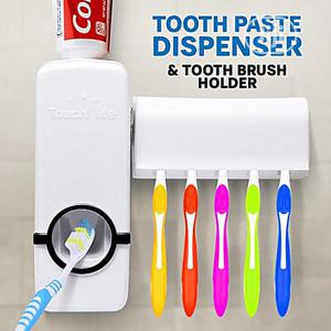 TOOTH PASTE DISPENSER With Toothbrush Holder | Home Accessories for sale in Lagos State, Surulere