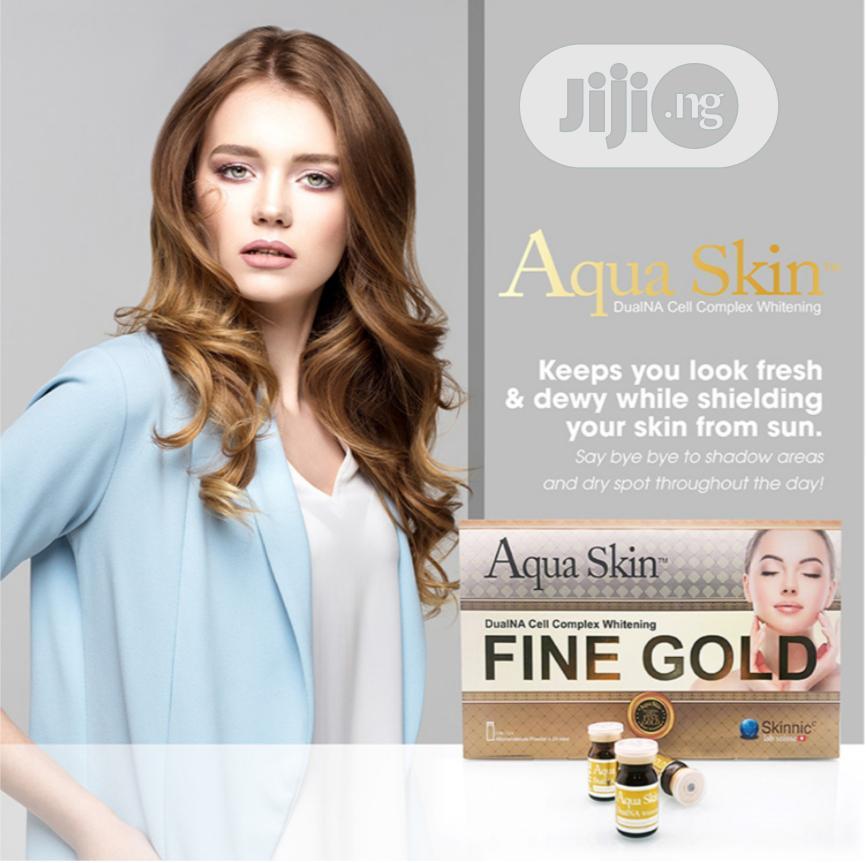 Archive: Aqua Skin Dualna CELL COMPLEX WHITENING (Fine Gold)
