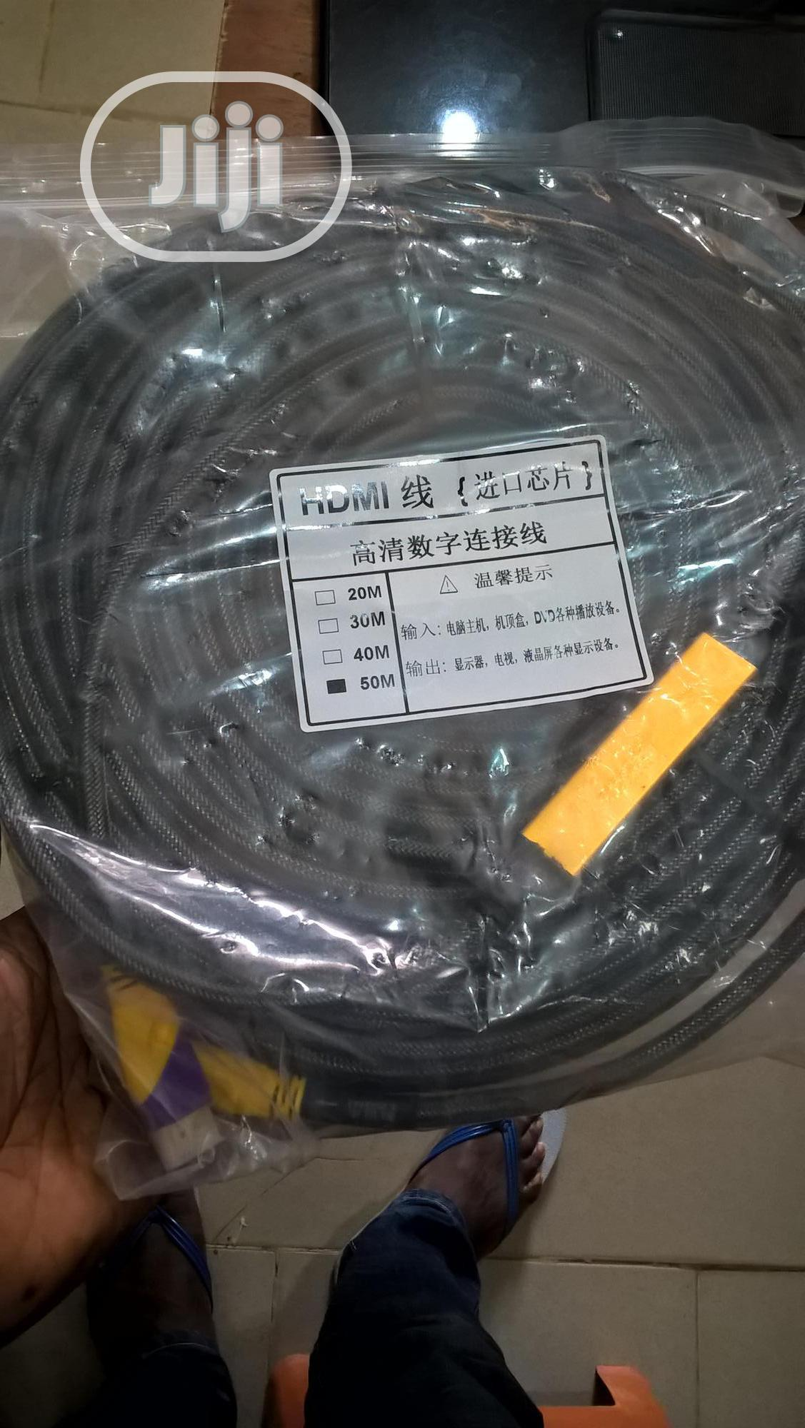 HDMI Cable 50 Meters With I.C Booster
