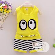 Clothing Sets Children Vest + Striped Pants   Children's Clothing for sale in Lagos State, Oshodi-Isolo