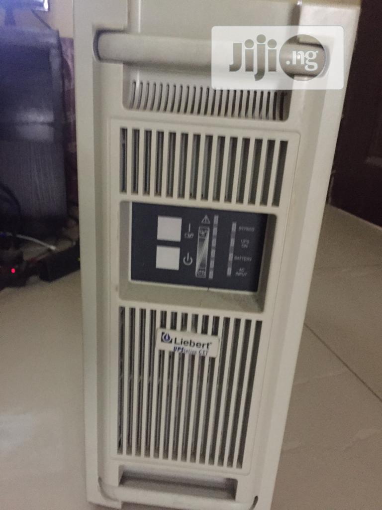 Liebert Uninterruptible Power Supply Gxt1000rt-230