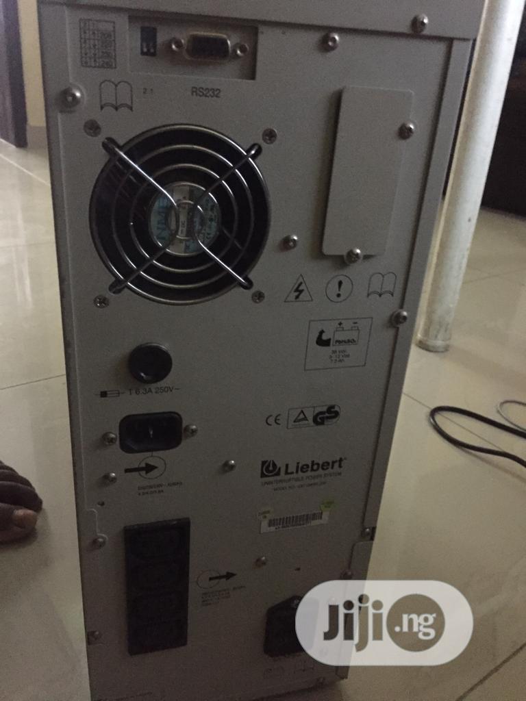 Liebert Uninterruptible Power Supply Gxt1000rt-230 | Computer Hardware for sale in Ajah, Lagos State, Nigeria