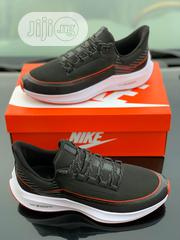 Nike Zoom Fly FK V6 'Black/Carbon Grey/Red' | Shoes for sale in Lagos State, Victoria Island