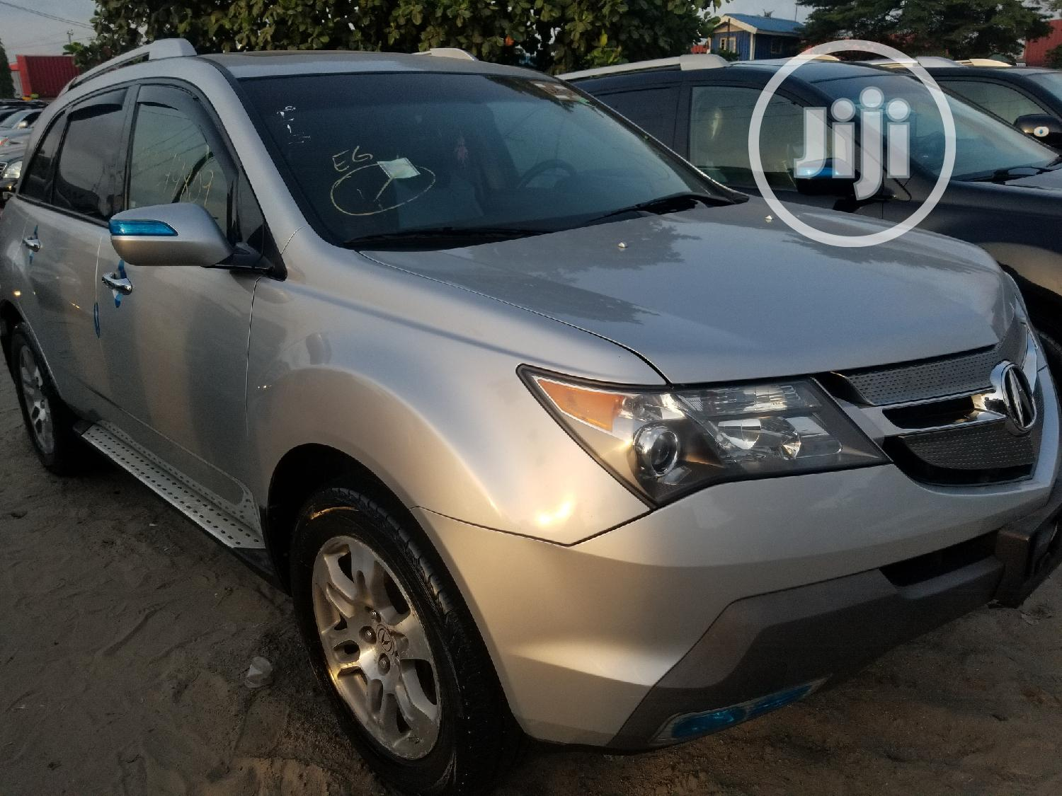 Acura MDX 2008 SUV 4dr AWD (3.7 6cyl 5A) Silver   Cars for sale in Apapa, Lagos State, Nigeria