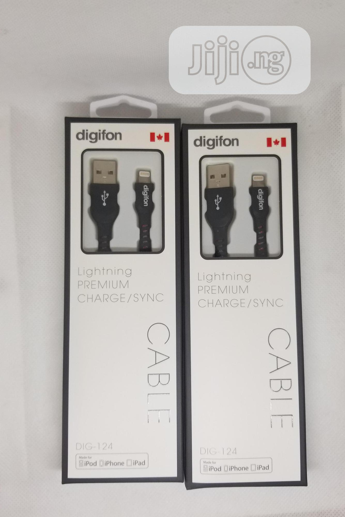 Archive: Digifon Apple Lightning MFI Certified USB Cable